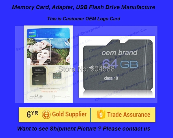 50pcs/lot for Regular Buyers oem micro size 32GB 64GB 128gb-8GB-16GB memory sd card class 10/support for samsung mobile phone(China (Mainland))