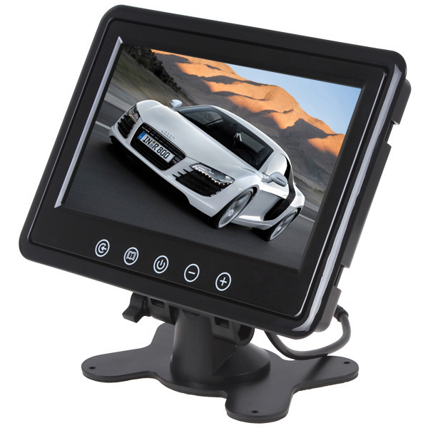 7 TFT Color LCD Display 800X480 Car Rear View Monitor With 2CH Video Input<br><br>Aliexpress