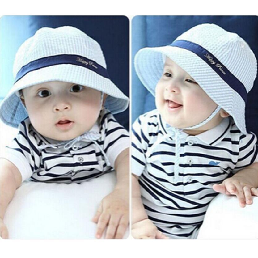 hat 2016 newborn baby photography props Baby Boy And Girl Kid Spring Summer Pots Hat Cotton Sun Visor Caps bonnet enfant(China (Mainland))