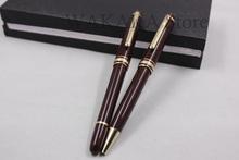 Luxury MB 163 Drak Red mon roller ball pen monte office supplies ballpoint pen Hot sell mb blance pen(China (Mainland))