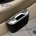 Tiptop New Mini Auto Car vehicle Trash Rubbish Can Garbage Dust Case Holder Box Free Shipping