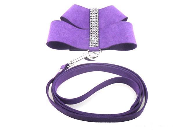 1pcs dogs cats fashion Rhinestone harness leash suit supplies doggy outdoor training harnesses lead sets pets accessories S M L(China (Mainland))