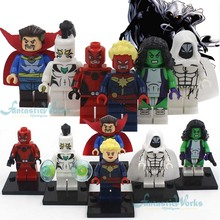 2016 Marvel The Avengers Minifigures Fantastic 4 Guardians of the Galaxy X-Men Captain America 3 Civil War blocks Figures(China (Mainland))