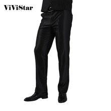 2016 Formal Wedding Men Suit Pants Fashion Slim Fit Casual Brand Business Blazer Straight Dress Trousers H0284(China (Mainland))