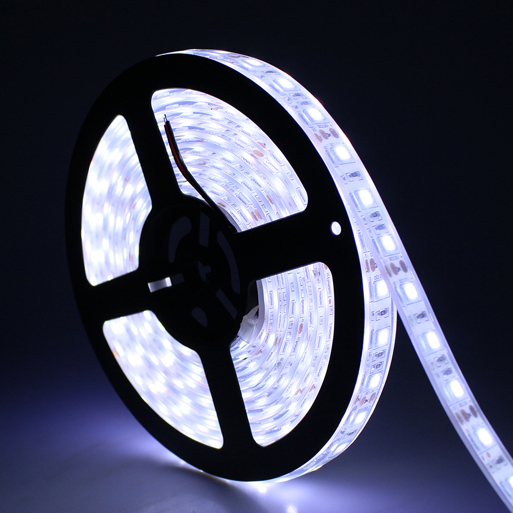 Outdoor Waterproof Solar Led Strip Light Smd 5050 5m: Tanbaby IP67 Waterproof Led Strip Light SMD 5050 Flexible