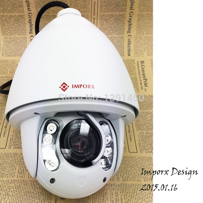 1080P IP Camera PTZ Onvif 2.0Megapixel Infrared Speed Dome P2P Cloud 20X optical Zoom Pan Tilt Dome PTZ Camera(China (Mainland))