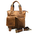 Nesitu High Quality Vintage First Layer Genuine Leather Men Messenger Bags Shoulder Bag Briefcase Portfolio M259