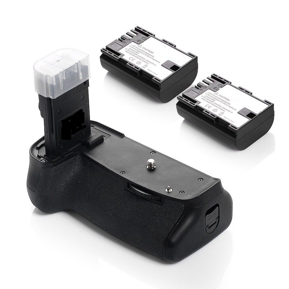 Battery Grip 60D REBEL X0D + 2X LP-E6 For Canon SLR DSLR Camera BGE9 BG-E9 camera & photo(China (Mainland))