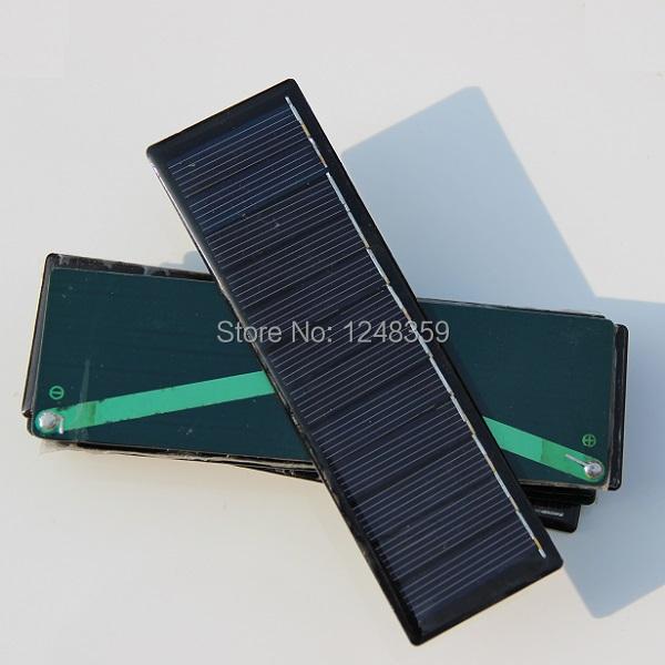 Wholesale Solar Panels 6V 0.6W Mini Solar Cell Diy Panel 143.5*43.5*3MM For Small Power Appliances 30pcs/lot Free Shipping(China (Mainland))