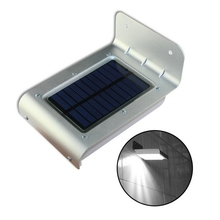 Updated 2nd Generation 16 LED Solar Power Outdoor Light Garden Security Wall Lamp Motion Sensor Waterproof Lights Energy Led(China (Mainland))