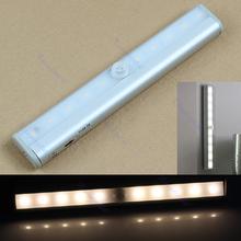 A17 – TDL-7120 10 LED IR Infrared Motion Detector Wireless Sensor Closet Cabinet Light Lamp Free Shipping