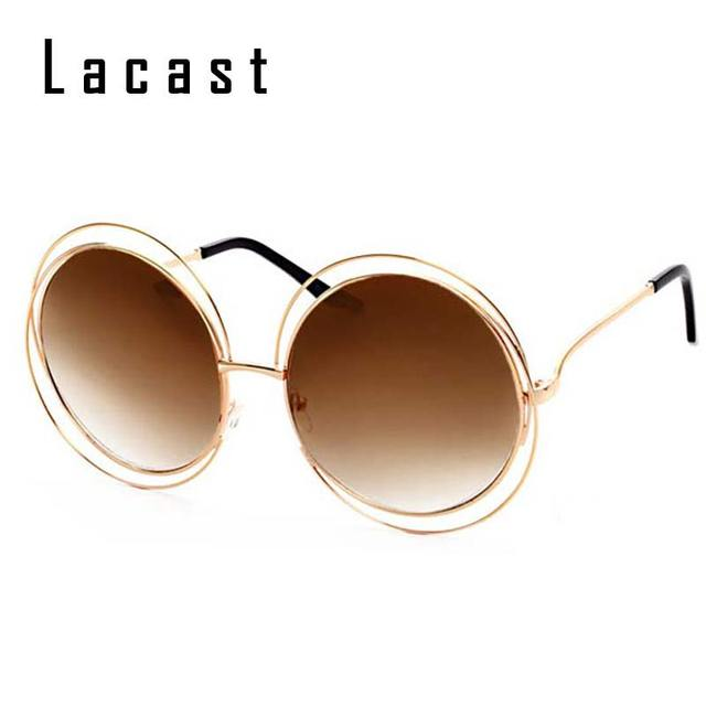 Big Gold Frame Sunglasses : Aliexpress.com : Buy Oversized Round Sunglasses Women ...