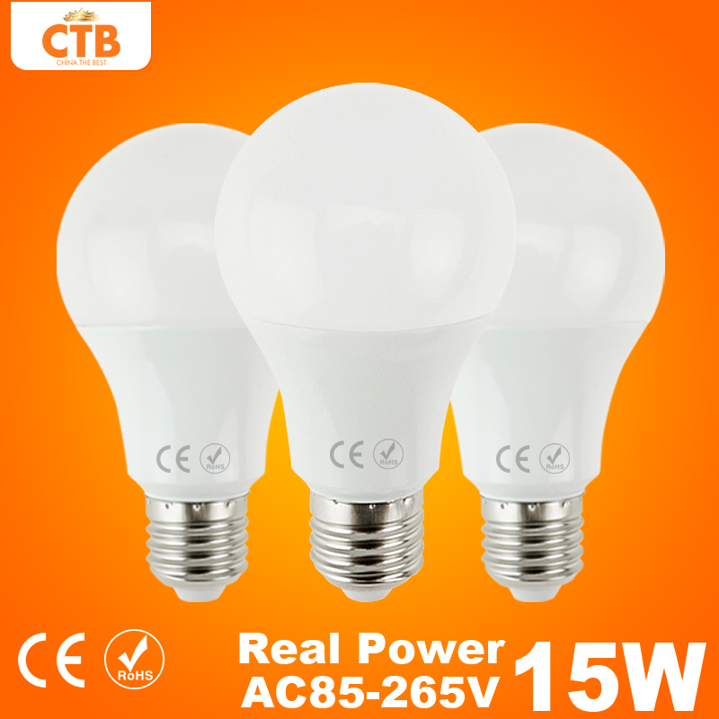 Led Lamp E27 220V 240V 3W 5W 7W 9W 12W 15W 18W 25W B22 LED Bulb 110V 127V Light Lampada de Bombillas LED Candle Light(China (Mainland))