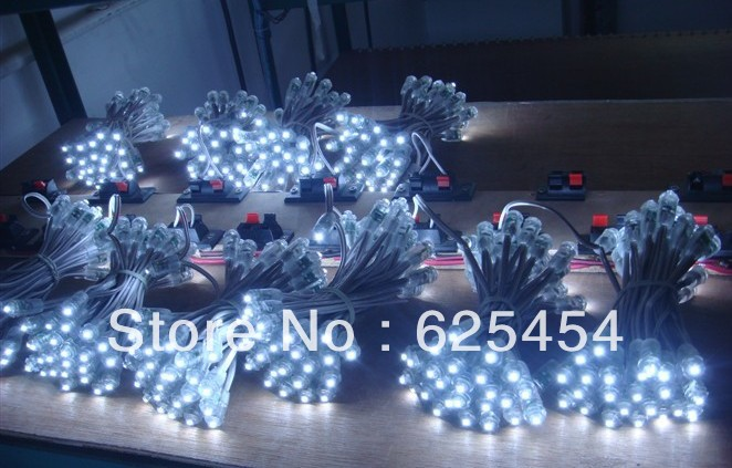Waterproof DC5V WS2801 pixel module LED Colorful String Smart RGB Pixel Direct Light 5/lot - Pleasant Foreign Trade store