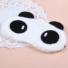 Fashion Panda Sleeping Eye Mask Nap Eye Shade Cartoon Blindfold Sleep Eyes Cover Sleeping Travel Rest