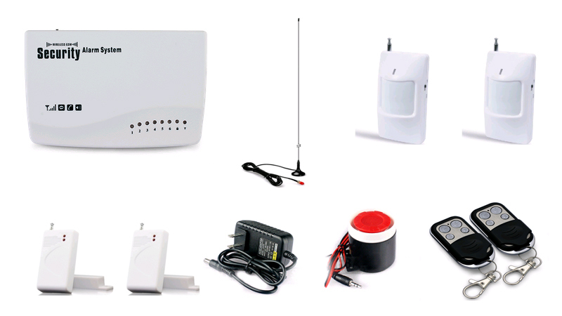 New Wireless GSM Home Security Burglar Alarm System alarm systems &amp; security Auto Dialing Dialer SMS Call<br><br>Aliexpress