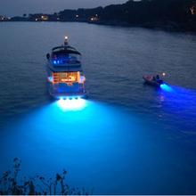 Edelstahl 31618 Watt LED Marine Licht Unterwasserboot Licht Blur Licht IP68 Wasserdicht für Welle Platte(China (Mainland))
