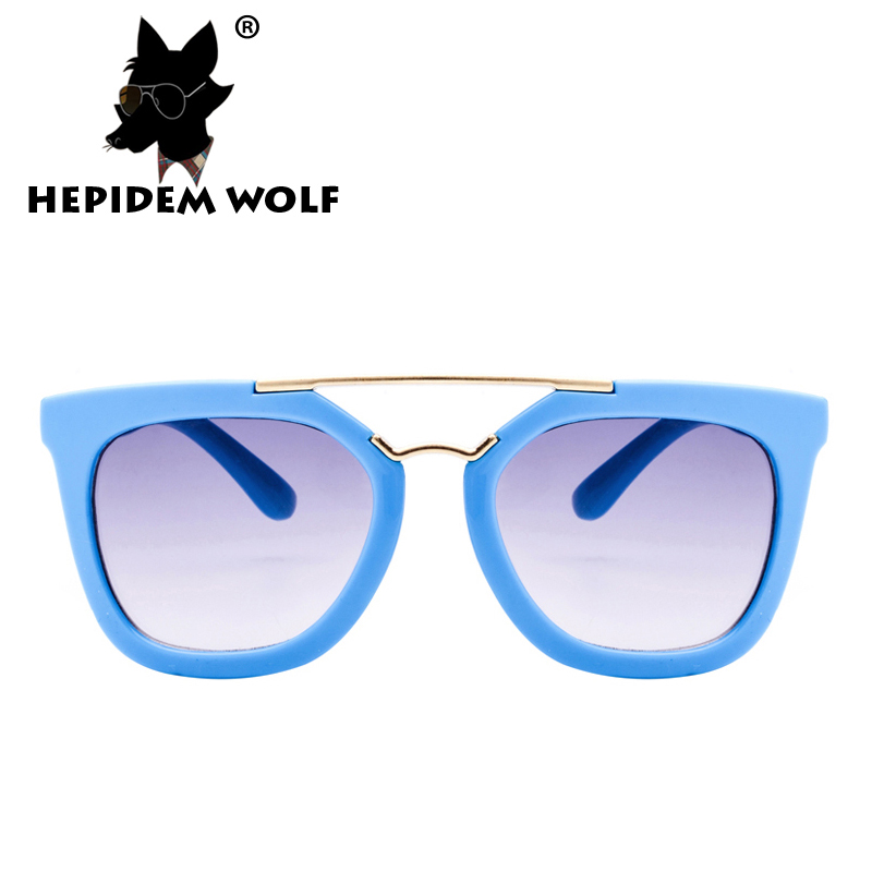 2016 New Fashion Baby Girls Cateye Sunglasses Children Boy Sunglass Vintage Cat Eye PC Child Kids Sun Glasses H2906 HEPIDEM WOLF