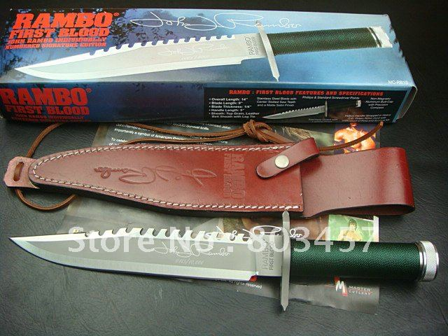(Signature Edition) Genuine United Cutlery Frist Blood  I Tactical Combat Knife - Camping Hunting Survival Bowie Knives