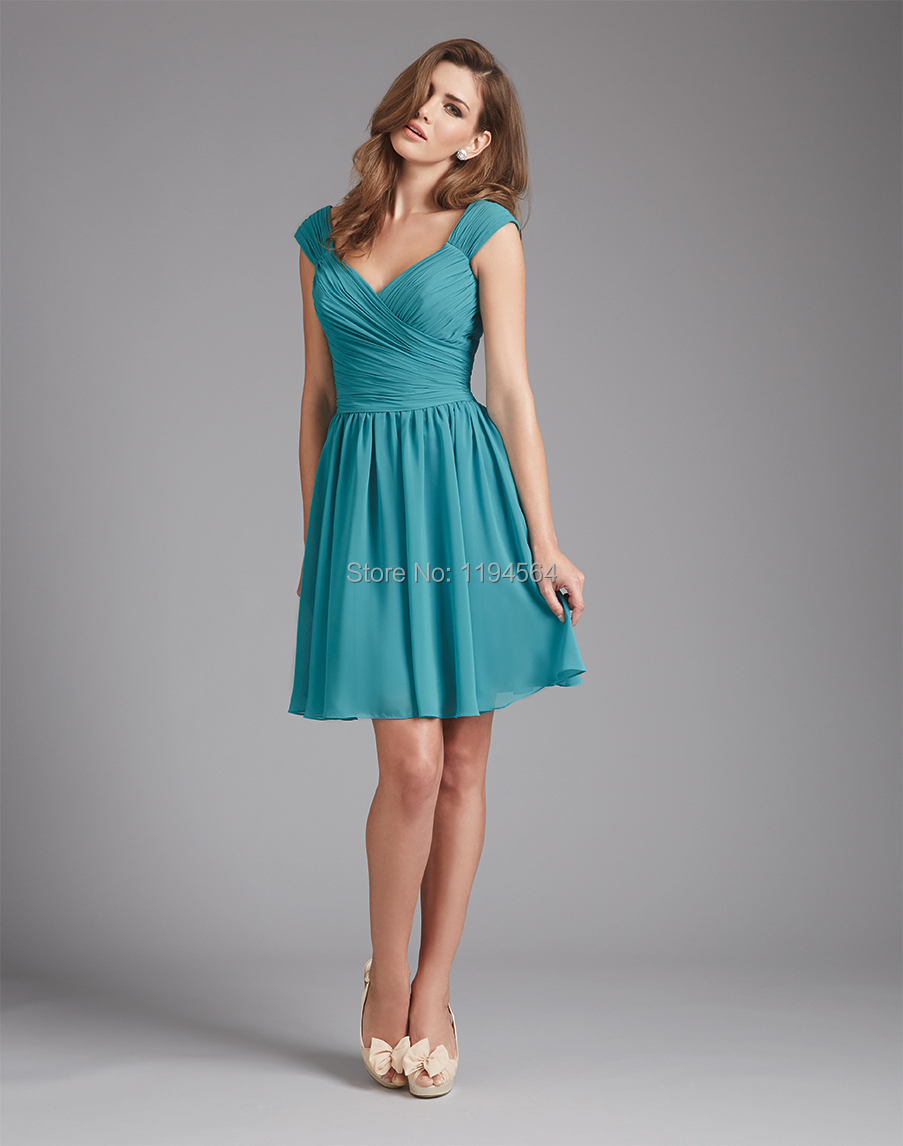 short bridesmaid dresses for beach wedding turquoise