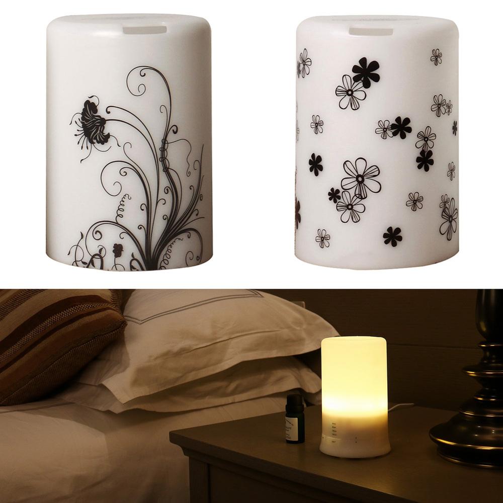 Гаджет  USB Portable Aroma Diffuser Night Light Essential Oil Ultrasonic Humidifier Fresh Air Spa For Home & Office Free Shipping None Бытовая техника