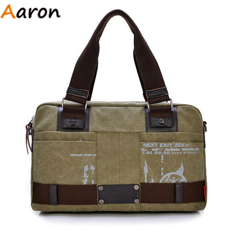 Aaron - Hot Sell Unisex Canvas Duffle Bag Fashion vintage Handbag,Large Capacity luggage bag,canvas Shoulder Bag Messenger Bags