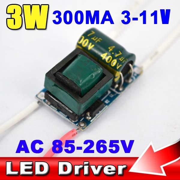 Newest 5X Led Bulb Driver 1W 2W 3W Lamp Driver Power Supply Light Transformer AC 85-265V COB E27 E14 GU10 GU5.3 MR16 Spotlight(China (Mainland))
