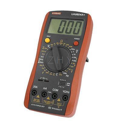 LCD Display AC DC Voltmeter Ammeter Ohmmeter Digital Multimeter Maipf<br><br>Aliexpress