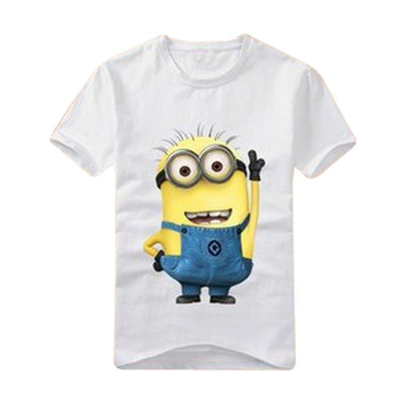 boys girls t-shirt cartoon anime figure despicable me minions clothes minion costume children's clothing t shirts kids wear(China (Mainland))