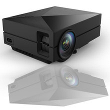 GM60 MINI LED Projector 800*480 1000Lumens For HD Video Games TV Home Theater Movie Support HDMI VGA AV SD Portable Proyector(China (Mainland))