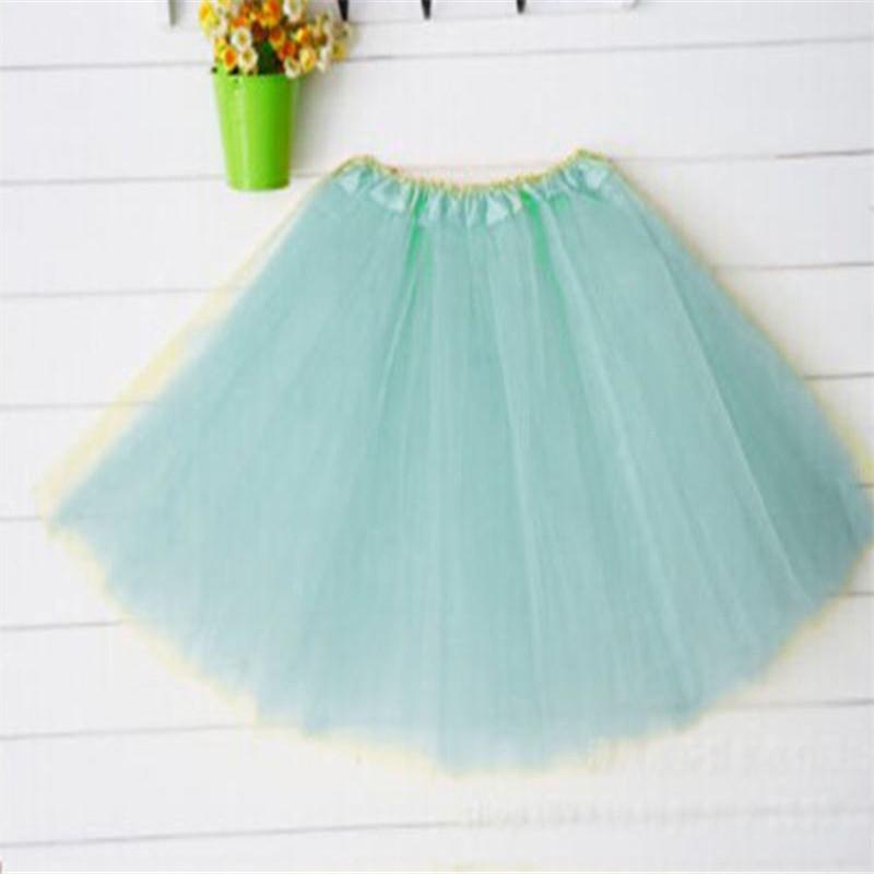 Baby Girls Tutu Skirt Kids Party Dance Wear Tulle Ballet Girl 8 Colours Princess Skirts - Yiwu Ino E-Commerce Co., Ltd. store