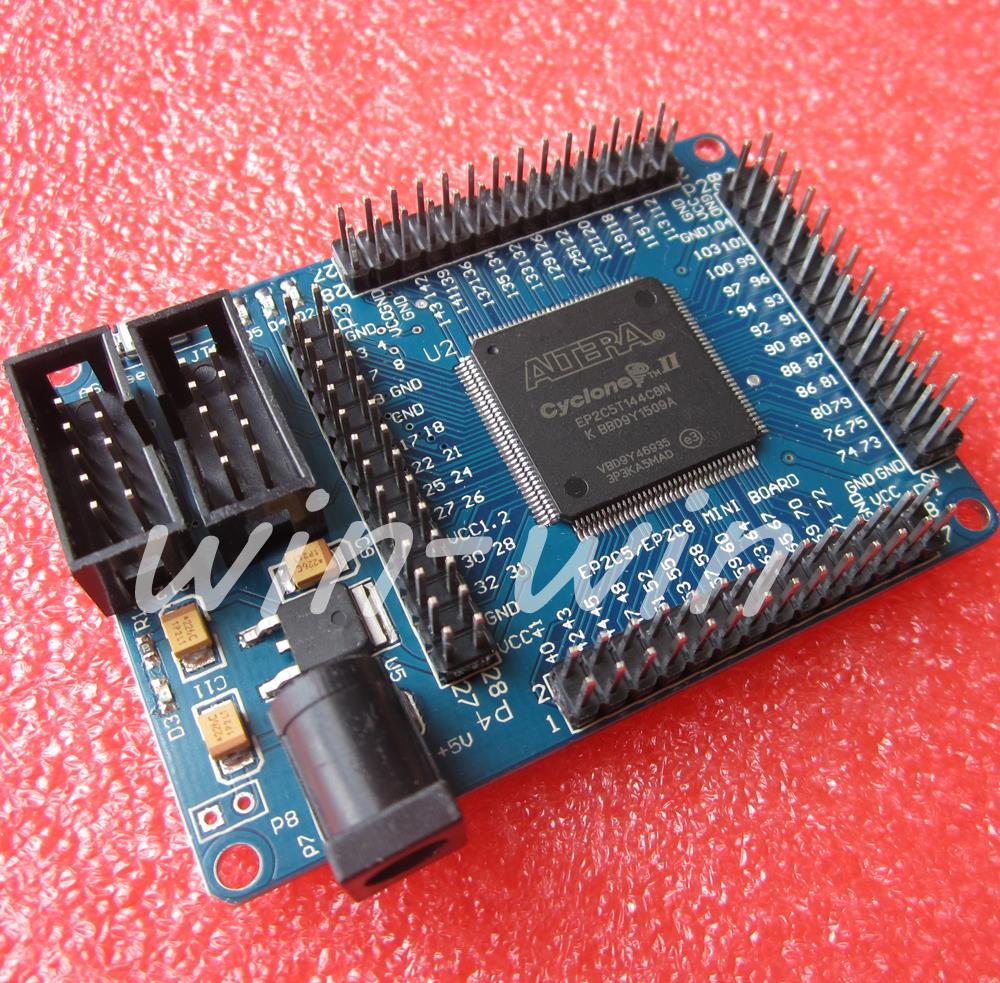 Гаджет  ALTERA FPGA Cyslonell EP2C5T144 Minimum System Learning Development Board  None Электронные компоненты и материалы