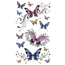 Newly Design Fashion Beautiful Butterfly Tattoo Stickers Temporary Waterproof Body Beauty
