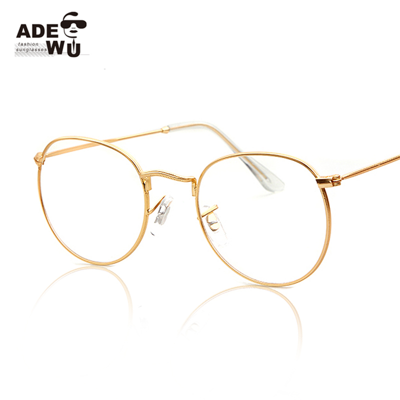 mens gold frame glasses Wrap Yourself Thin