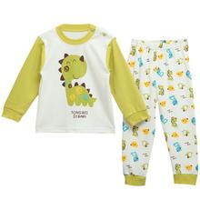 Happy Cherry Infant Boys Girls Cartoon Tops + Pants Sleepwear Cotton Underwear Coat(China (Mainland))