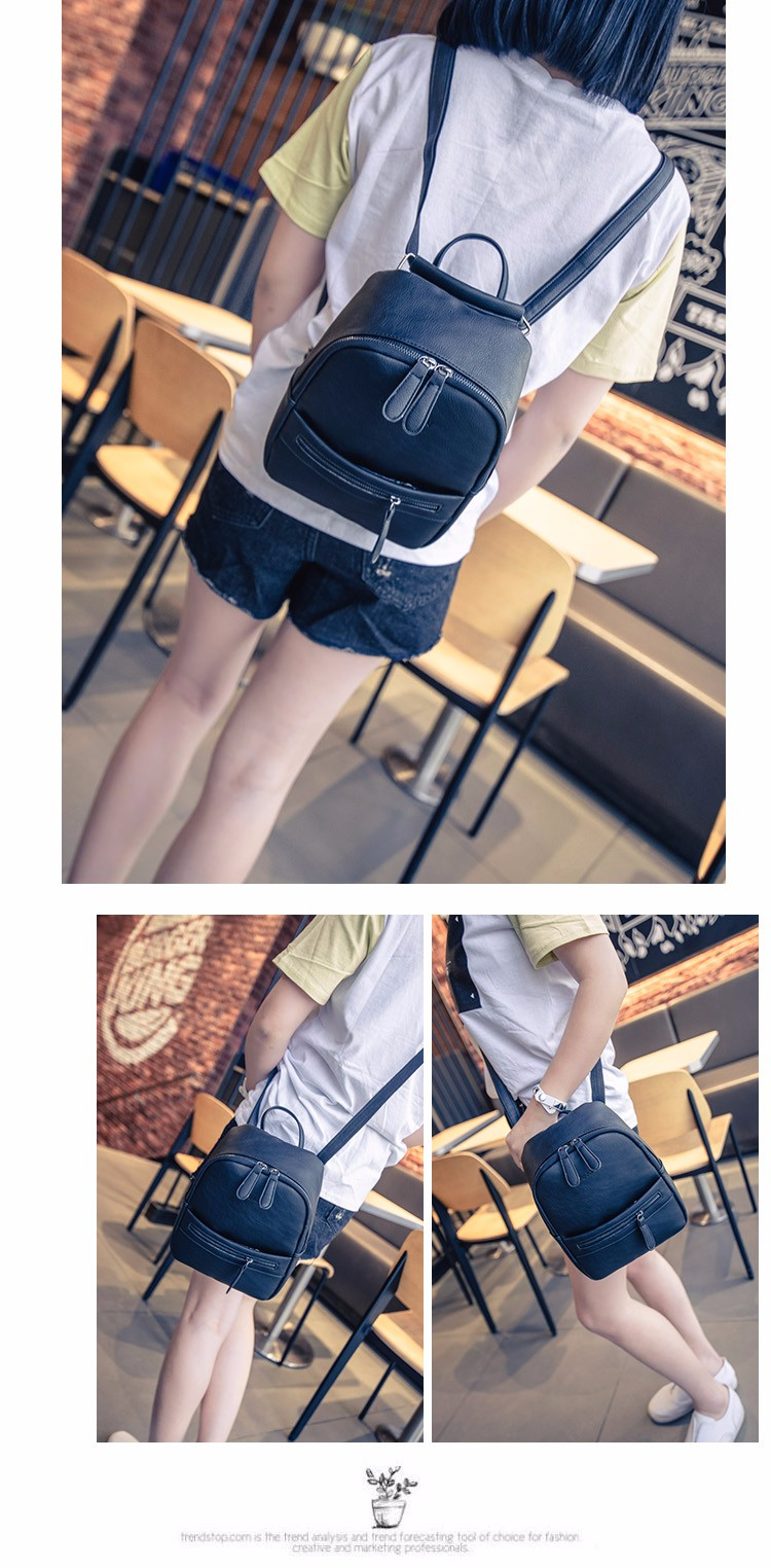 Wholesale Miyahouse Korea Style Women Backpack Fashion Candy Color ... 20800fc37c