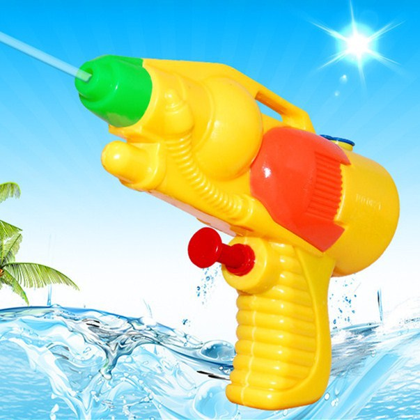 Children water plastic gun toys wholesale manufacturers sell Summer beach water toys for travel drift Pressure pistol for kids(China (Mainland))