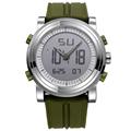 SINOBI 2016 Mens Watches Top Brand Luxury Digital Analog Display Silicone Band Fashion Watch Men Multifunction