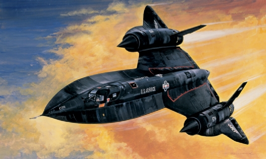Out of print product! Italeri model 0145 1/72 SR - 71 BLACK BIRD airplane plastic model kit(China (Mainland))