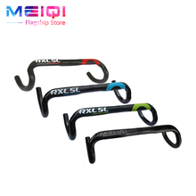 Buy RXL SL Full Carbon Fiber Road Bicycle Handlebar Highway Bicycle Handle Bike Parts 31.8*400/420/440mm C standard Carbon handle for $31.04 in AliExpress store