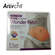 South Korea quality goods mymi Losing Weight Slim Patch with an anti-counterfeit thin body Weight Loss Products 5Pieces