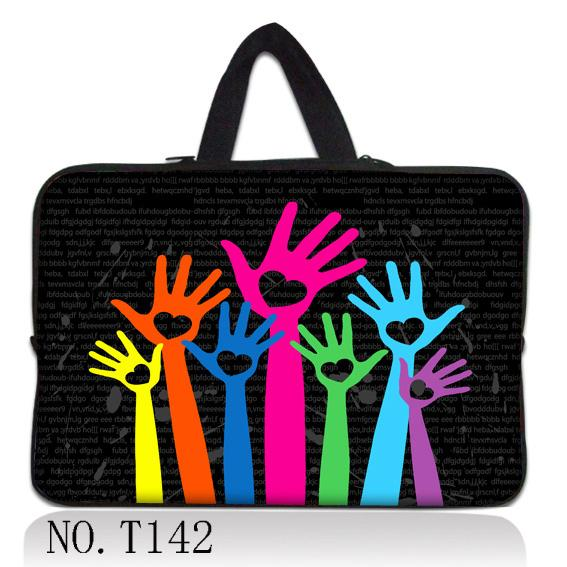 """Colorful Palm 11.6"""" 12"""" inch Neoprene Laptop Bag Sleeve Case Netbook Cover Pouch +Hide Handle(China (Mainland))"""