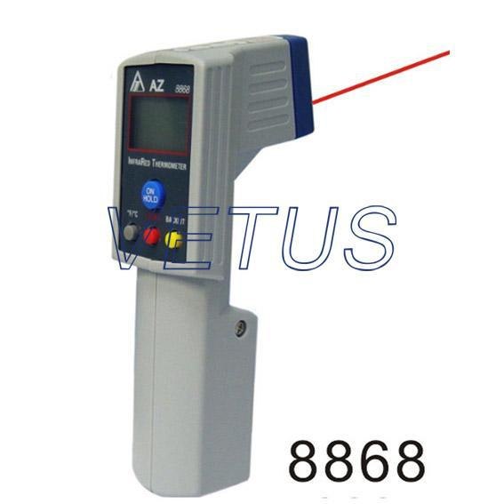AZ8868 high quality Digital Infrared Thermometer IR temperature gauges with backlight(China (Mainland))