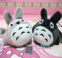 10pcs/lot Free shipping Japan cute totoro mobile phone's accessories plush cartoon doll gifts business promotion free gifts