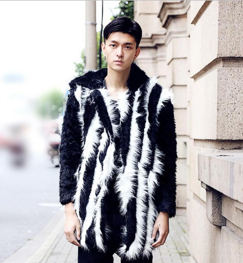Online Get Cheap Leather Fur Coats Men -Aliexpress.com | Alibaba Group