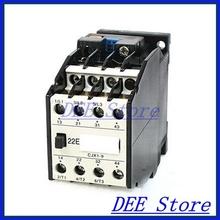220V Coil Motor Controler AC Contactor 3 Pole 2NO+2NC 660V 20A CJX19/22