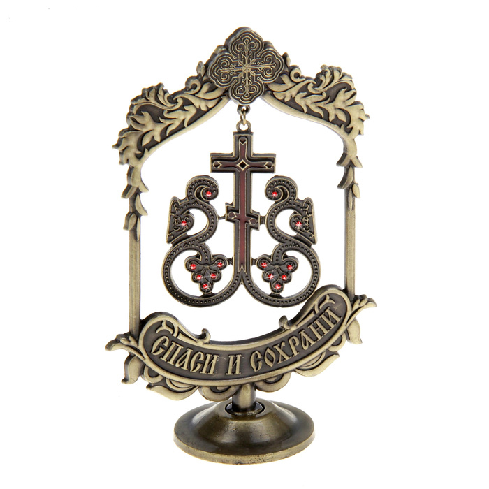 New vine design Cross suspension church souvenirs home decoration ornaments metal art collectibles The new year gift(China (Mainland))