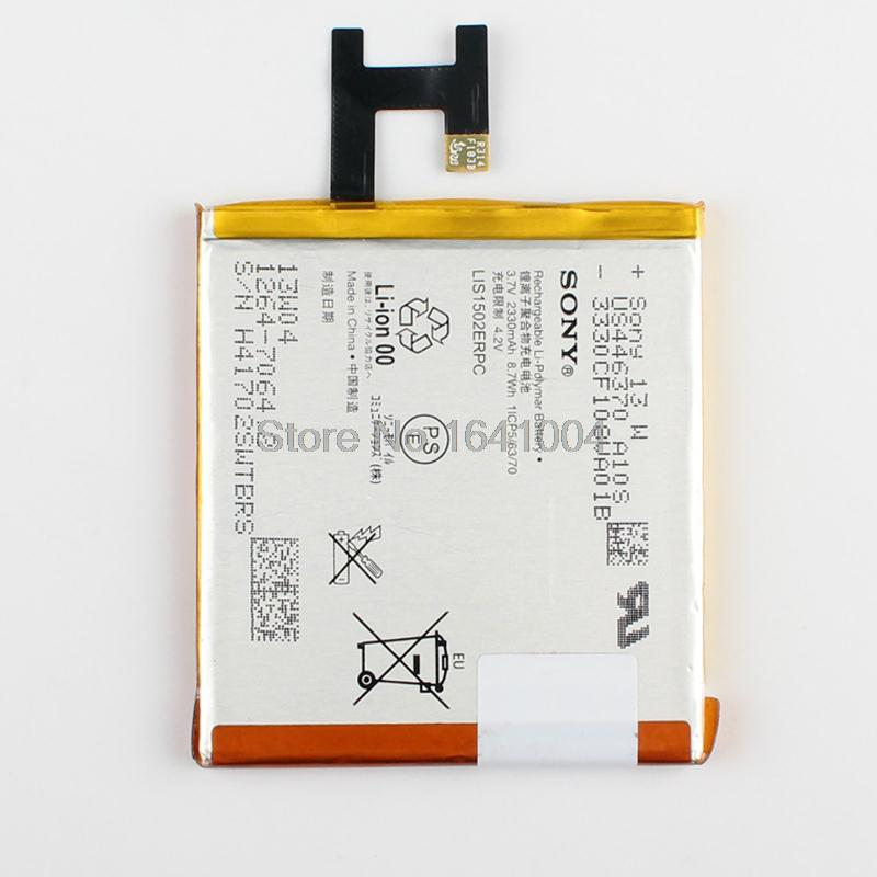 100 Original Replacement Battery For Sony Xperia Z L36h L36i SO 02E C6603 S39H c6602 2330mAh