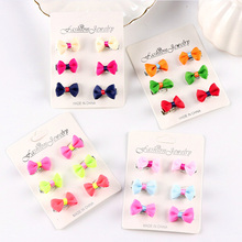 Buy Wholesale 6PCS/Set New Cute Little Girls Barrettes Candy Color Kid Small Hair Clip Hair Bows Hairpins Children Hair Accessories for $1.03 in AliExpress store