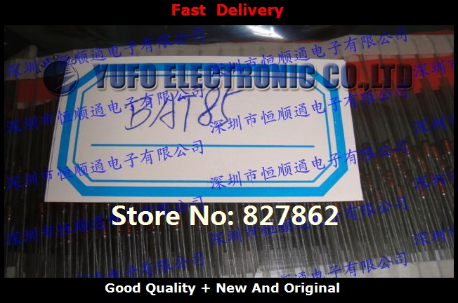 Free Shipping 50PCS Genuine IC BAT85 5V6 30V Handsome Electronics stores YF1112(China (Mainland))